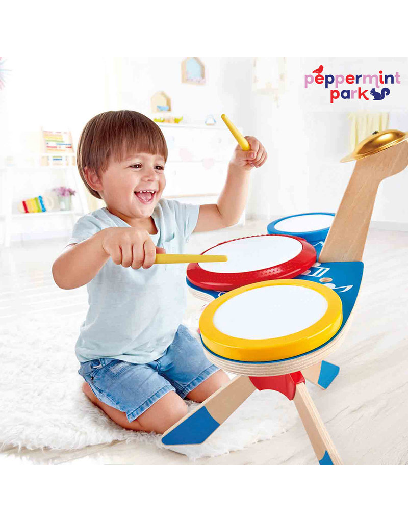 Hape International Drum and Cymbal Set