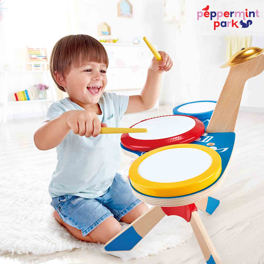 Hape International Drum and Cymbal Set