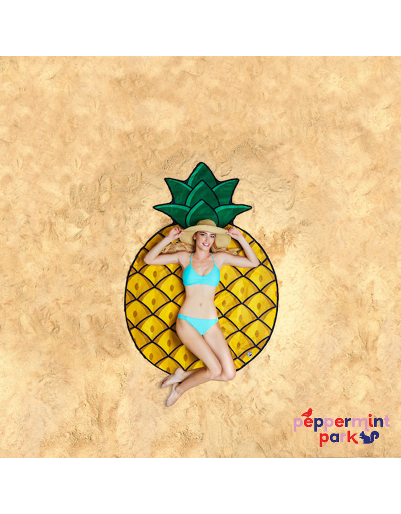 Big Mouth Inc. Pineapple Beach Blanket