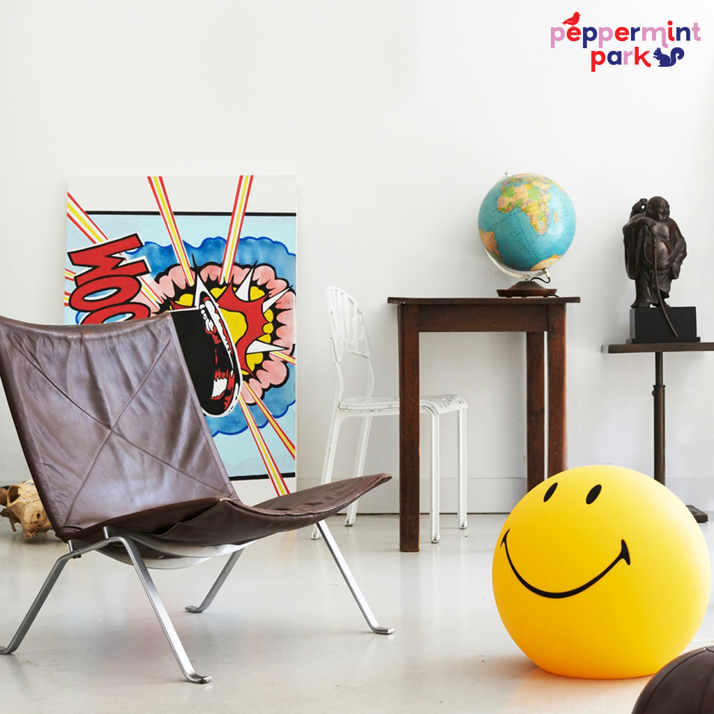 Cool Decor Company Smiley Lamp