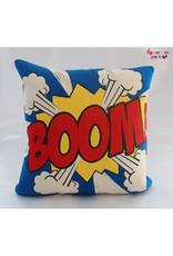 La Casa Cotzal BOOM Pop Art Pillow
