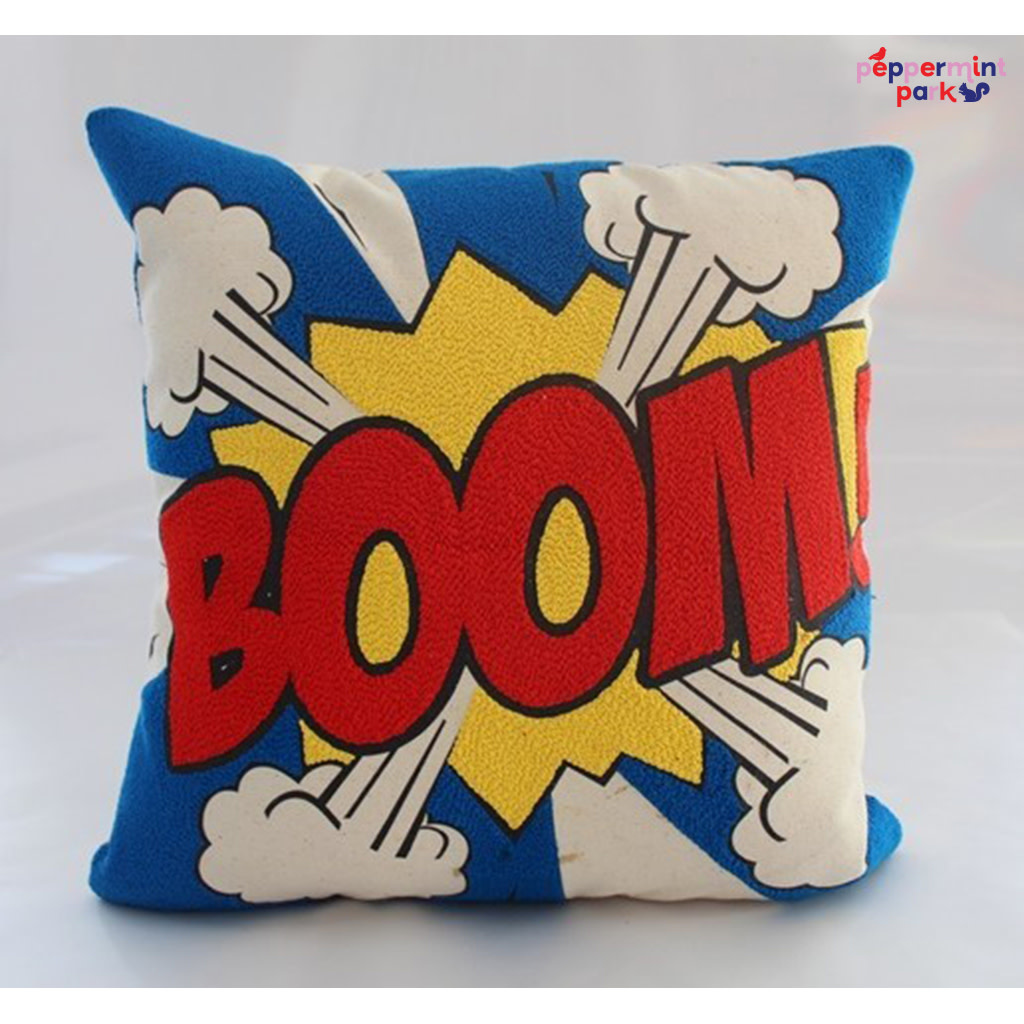 La Casa Cotzal BOOM Pop Art Pillow