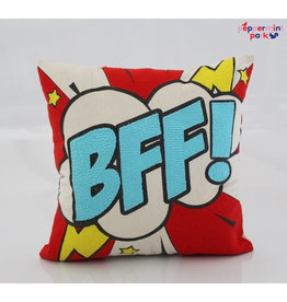 La Casa Cotzal BFF Pop Art Pillow