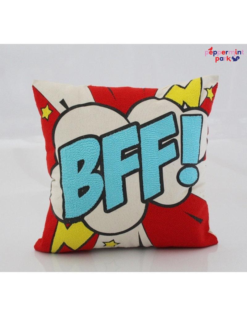La Casa Cotzal BFF Pop Art Pillow