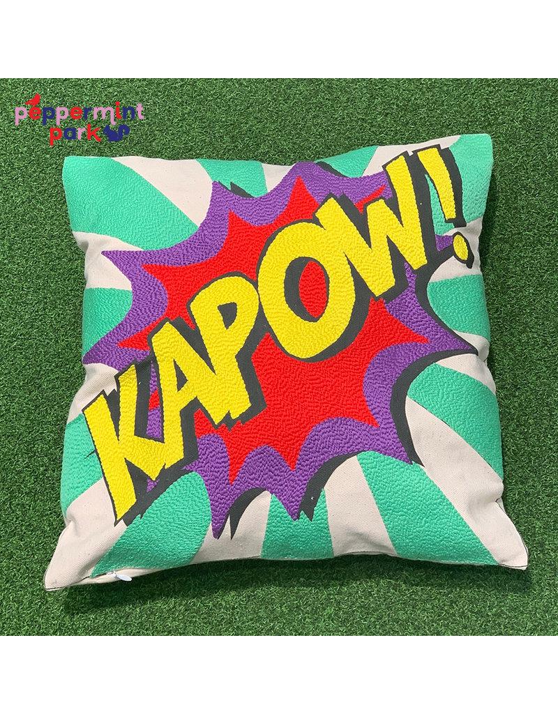 La Casa Cotzal KAPOW Pop Art Pillow