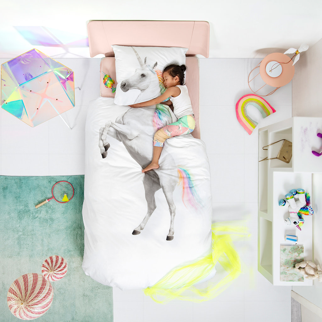 Snurk Unicorn Duvet Cover Set