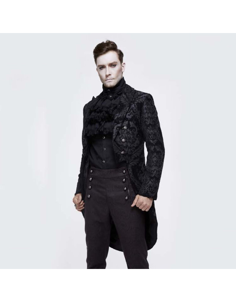 Gothic Patterned Tail Coat