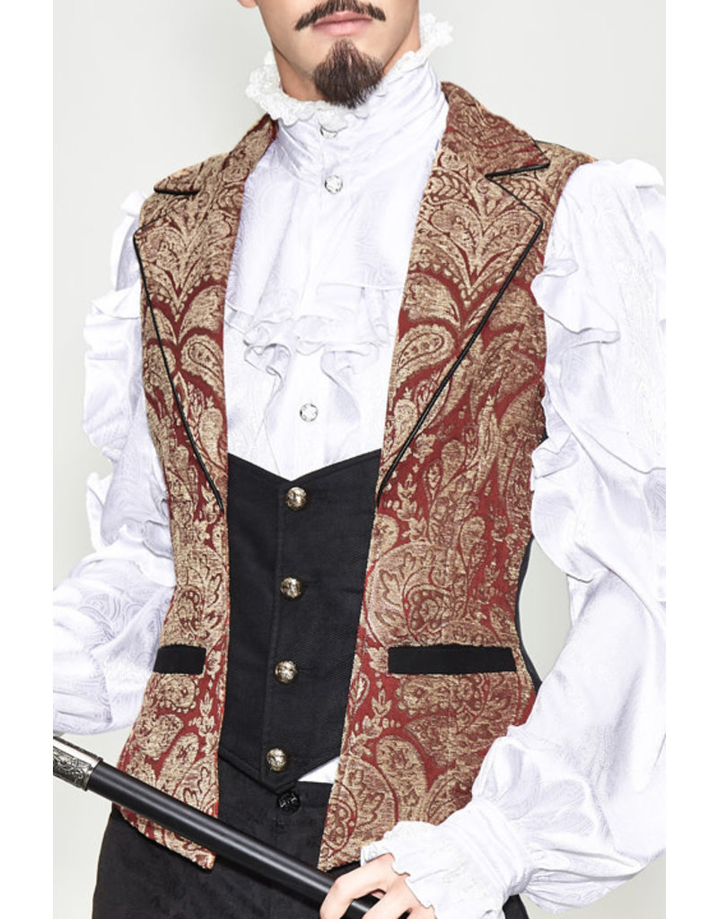 Pirate Embroidered Vest