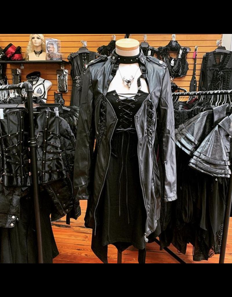 Dark Punk Short Dress