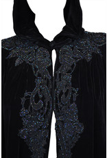 Victorian Cape with Beaded Lace