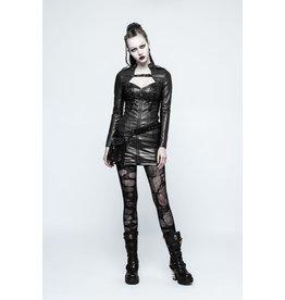 Punk Sexy PU Leather Dress