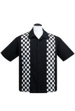 Checkered Mini Panel S/S Bowler Shirt