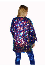 Short Sequin Multi Color Duster