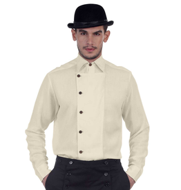 ULYSSES SIDE BUTTON SHIRT