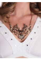 Gold Deer Necklace