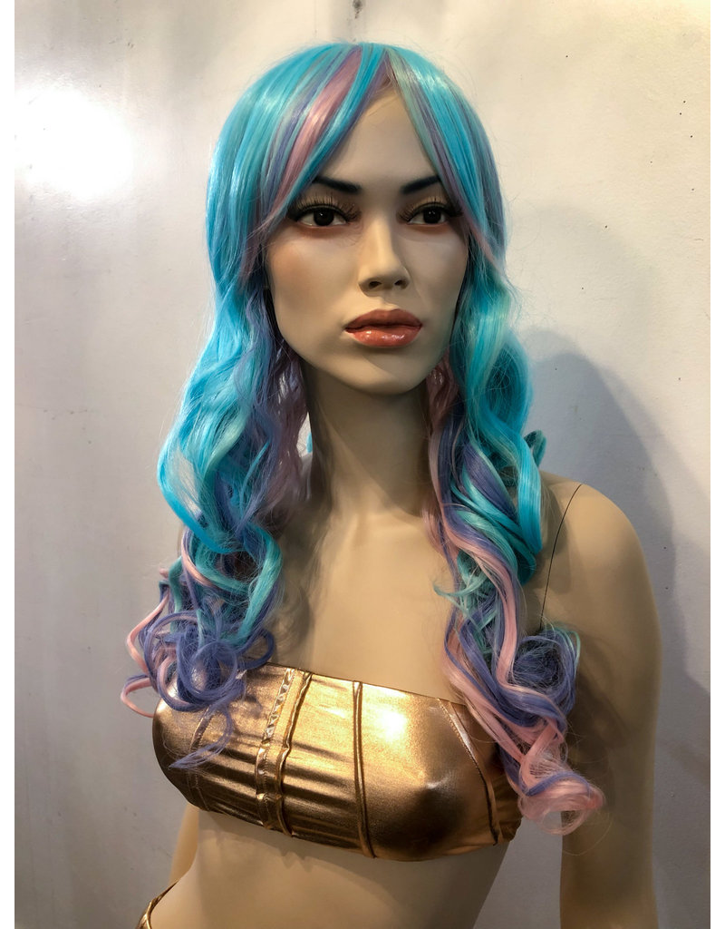 Pastel Curly Wig