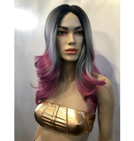OMBRE LAYERED CURLED  WIG