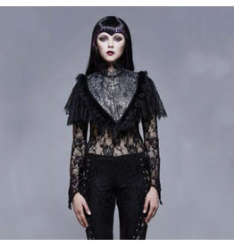 Lace Collared Cape
