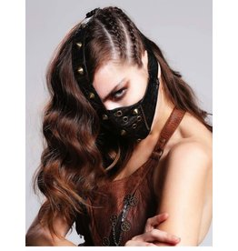 Face Mask with Zipper + Spikes