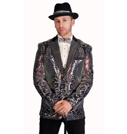 Art Deco Sequin Blazer