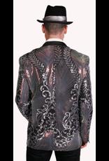 Art Deco Sequin Blazer