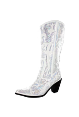 Tall Sequin Boot