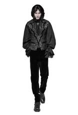 Bat Collar Dress Vest