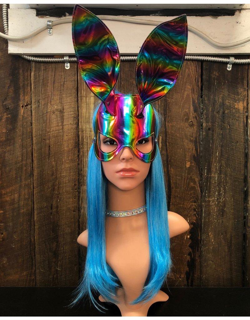 FUNK PLUS Bondage Bunny Face Mask w/ Ears