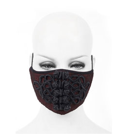 Victorian Red Face Mask