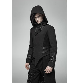 Punk Hooded Split Coat