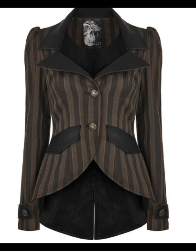 Striped Steampunk Blazer