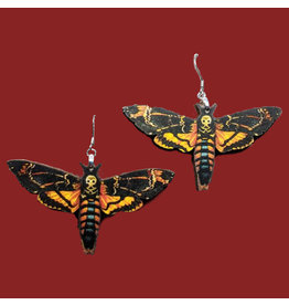Iamsonotcool Moth Earrings