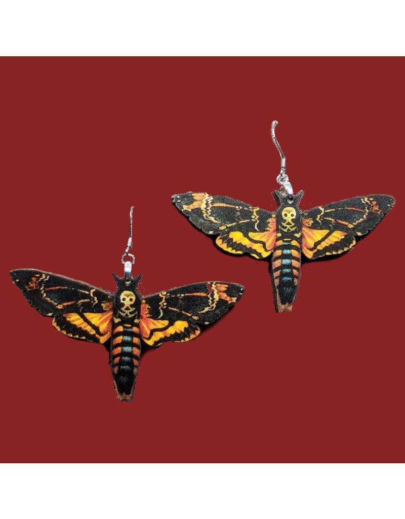 Iamsonotcool Moth Earrings
