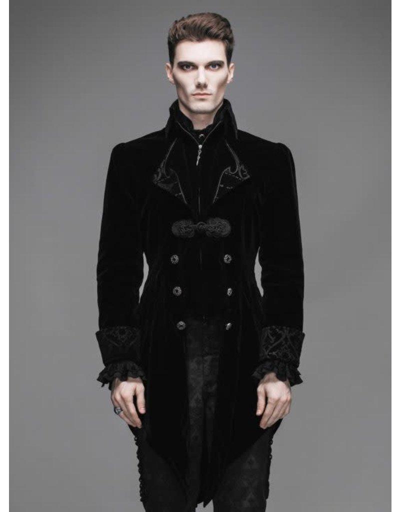 Black Gothic Swallowtail Jacket