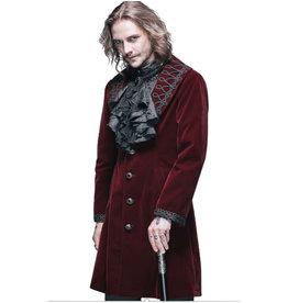 Burgundy Velvet Coat
