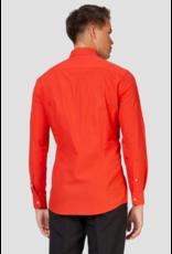 Red Devil Long Sleeve Suit Shirt