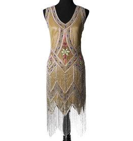 Art Deco Beaded Flapper Dress