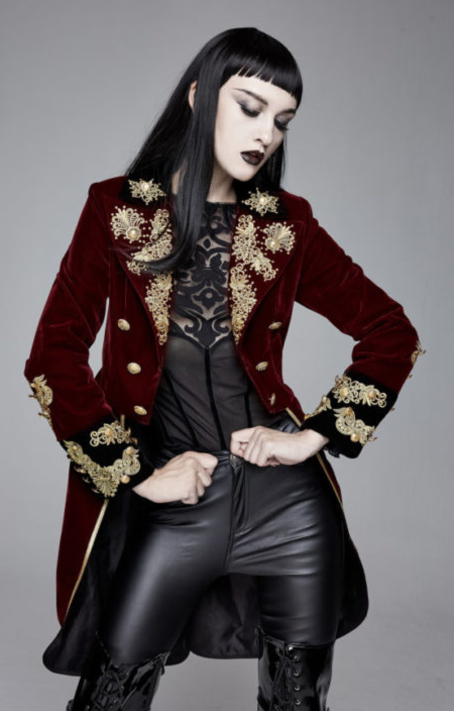 New Women/'s Pirate Jacket