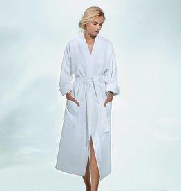 Yves Delorme Astreena Waffle Bath Robe by Yves Delorme