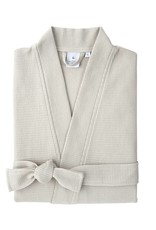 Yves Delorme Astreena Waffle Bath Robe by Yves Delorme