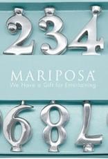 Mariposa Number Candle Holder Set