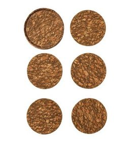 Kim Seybert Bark Coasters Set of 6