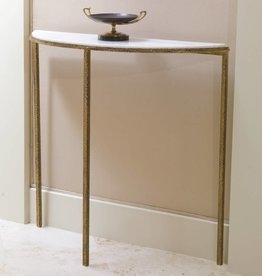Global Views Hammered Gold Console