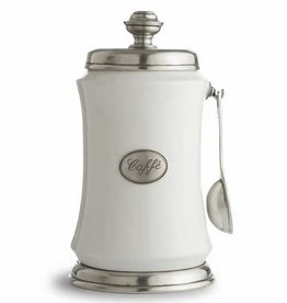Arte Italica Tuscan Coffee Canister and Spoon