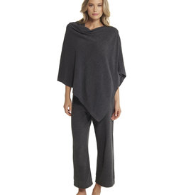 Barefoot Dreams Poncho Ultra Lite Carbon