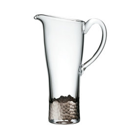 Kim Seybert Paillette Pitcher - Platinum