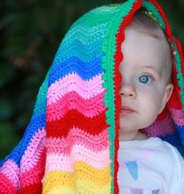 O.B. Designs Rainbow Baby Ripple Blanket