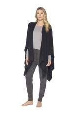 Barefoot Dreams COZYCHIC LITE WEEKEND WRAP - Black