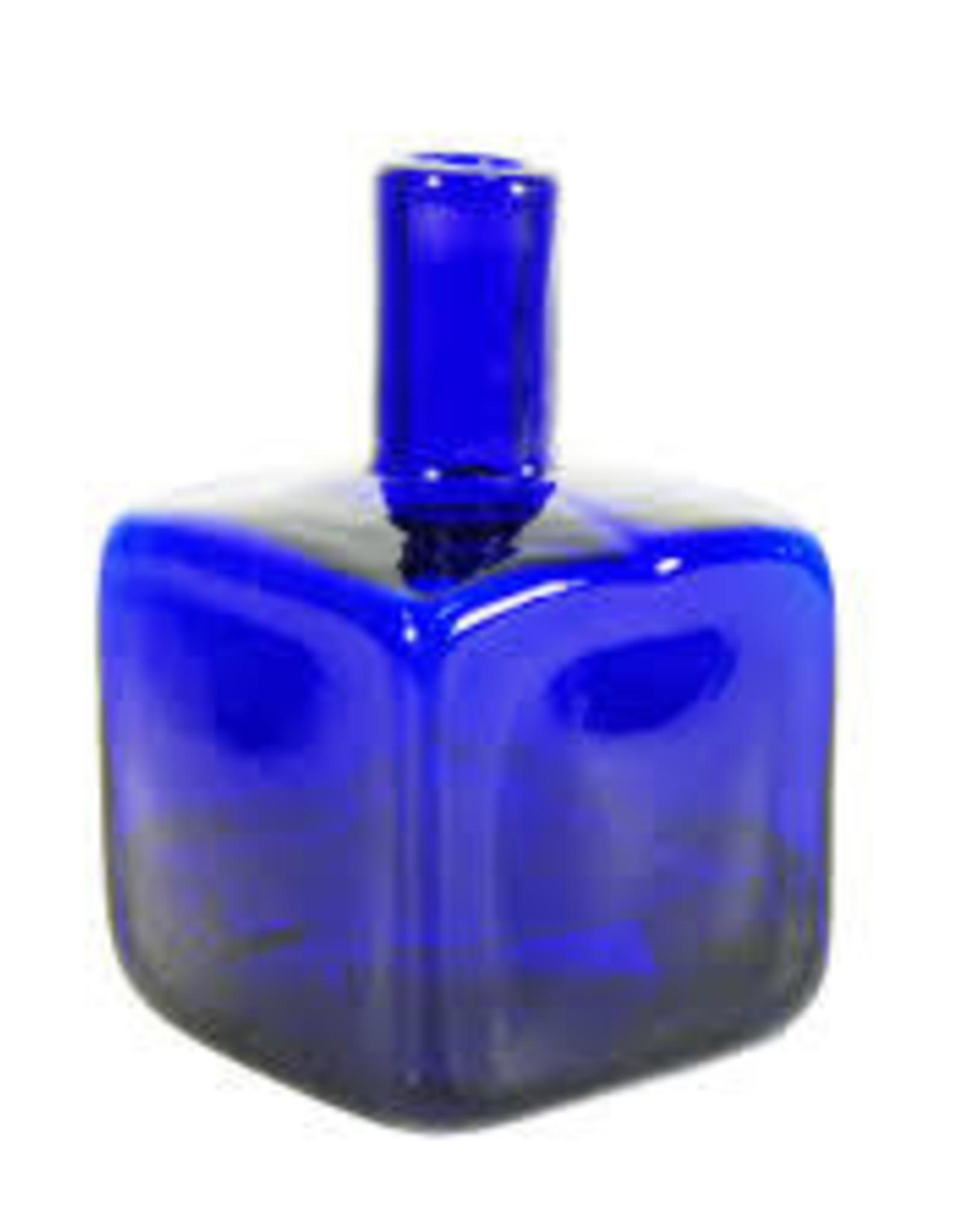 Blenko Block Bud Vase by Blenko