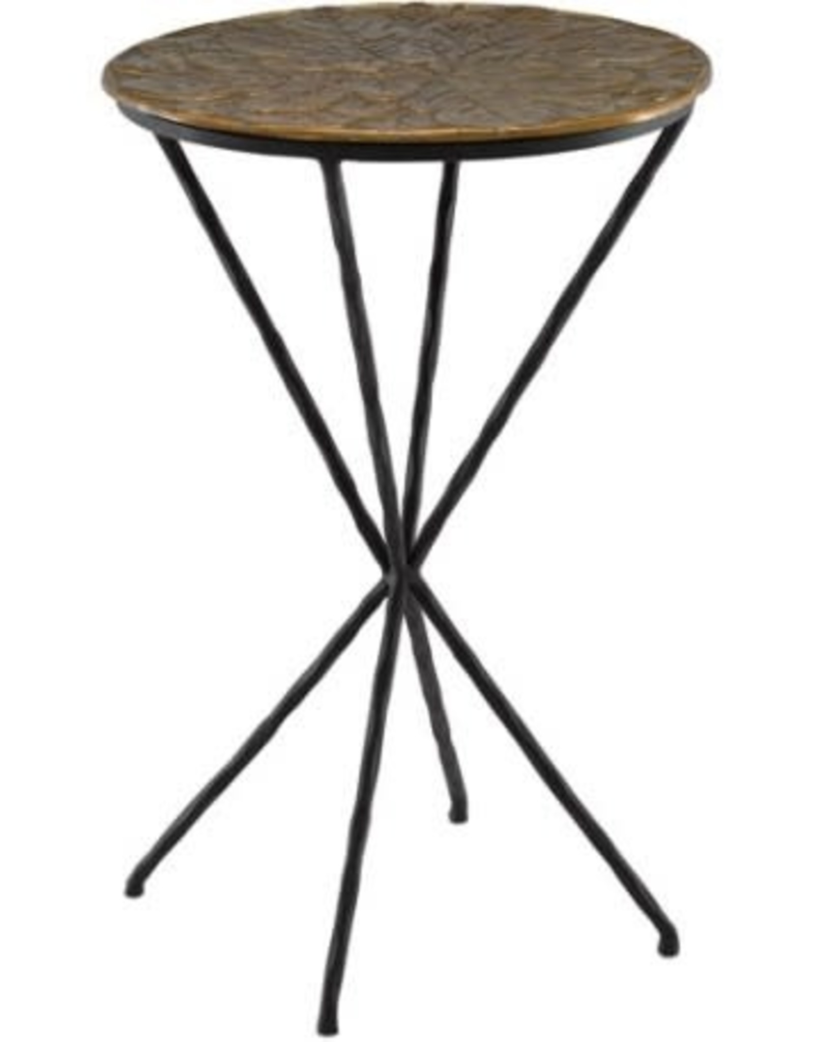 Currey & Company Figuier Drinks Table